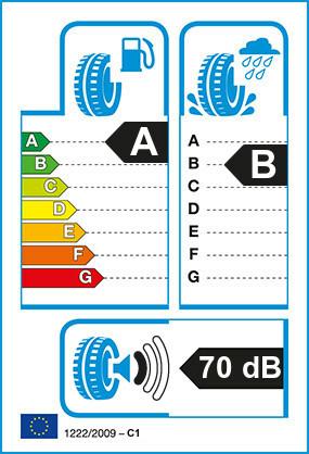 Etiquetage du Pneu Bridgestone ECOPIA H-DRIVE 002