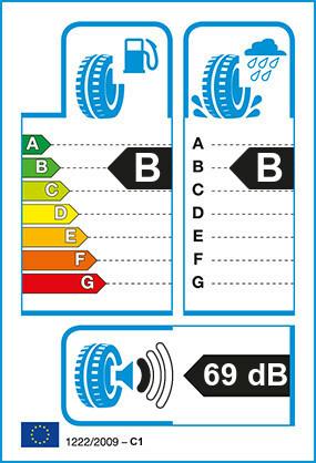 Etiquetage du Pneu Continental ECOPLUS HS3