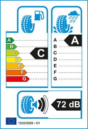 Etiquetage du Pneu Uniroyal RAINSPORT 3
