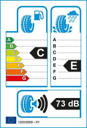 Etiquetage du Pneu Dunlop GRANDTREK AT20
