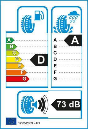 Etiquetage du Pneu Pirelli FG:01
