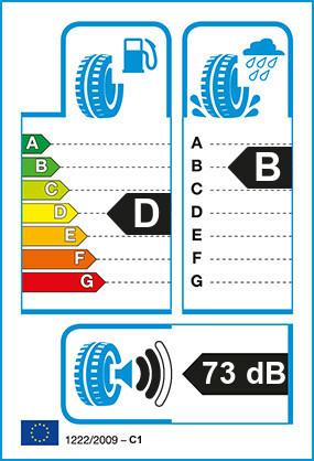 Etiquetage du Pneu Michelin X WORKS HD D
