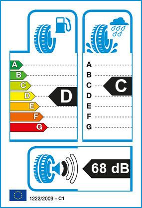 Etiquetage du Pneu Michelin X MULTI D (22.5)
