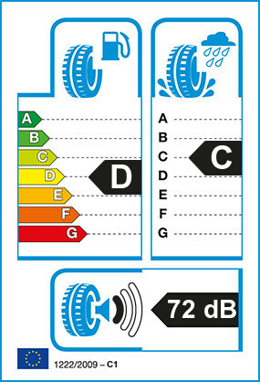 Etiquetage du Pneu Michelin XDW ICEGRIP
