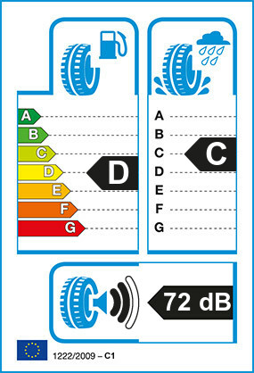 Etiquetage du Pneu Pirelli FR85 AMARANTO
