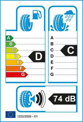 Etiquetage du Pneu Pirelli TR:01