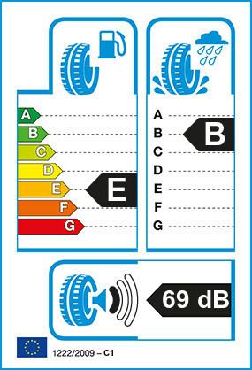 Etiquetage du Pneu Nexen N'BLUE 4 SEASON