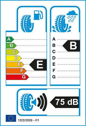 Etiquetage du Pneu Bridgestone DUELER H/T 687