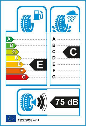 Etiquetage du Pneu Hankook WINTER I-CEPT EVO2 W320
