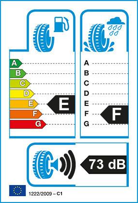 Etiquetage du Pneu Bridgestone DUELER H/T 684