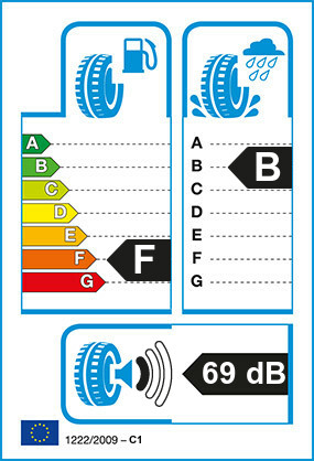 Etiquetage du Pneu Falken EUROWINTER HS449