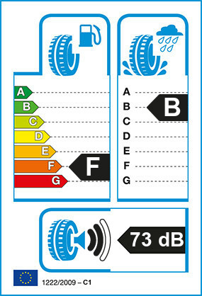 Etiquetage du Pneu Continental Conti 4x4 SportContact