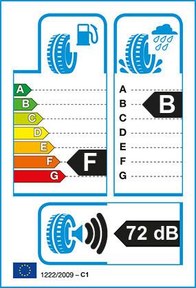 Etiquetage du Pneu Michelin PILOT EXALTO PE2