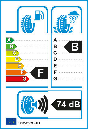 Etiquetage du Pneu Dayton D320