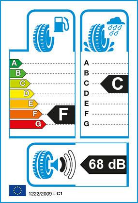 Etiquetage du Pneu Hankook RADIAL RA08