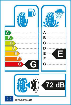 Etiquetage du Pneu Michelin XZX