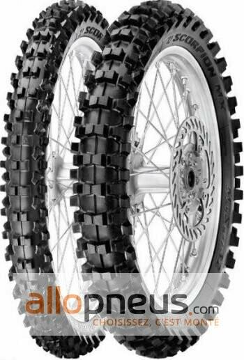 Pneu Pirelli SCORPION MX MID SOFT 32