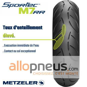 Pneu Metzeler SPORTEC M7 RR